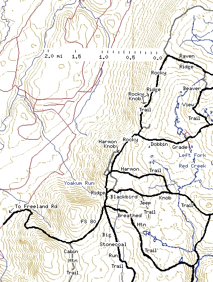 Our Dolly Sods Mapping Project: Western Edge